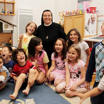 보스니아 보육원 이집트 하우스의 아이들(출처= ACN 자료사진)