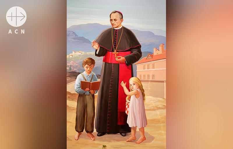 보육원 설립을 모범으로 스스로 도움이 필요한 아이들의 든든한 지원자를 자처하셨던 아기 예수의 종 수녀회 설립자 요셉 슈타들러 대주교님(출처=ACN 자료사진)