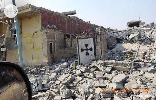 잔해만 남은 모술 지역, 출처=ACN자료사진