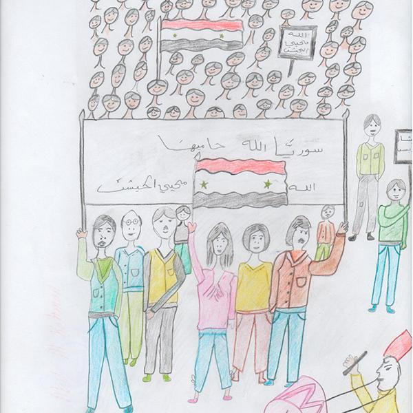시리아는 모두의 어머니예요