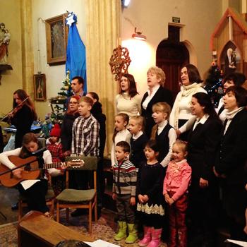 크림반도 본당의 아이들이 겨울을 날 수 있도록 돕습니다 (출처=ACN 자료사진)