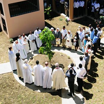 아이티 예수회 예비 사제들, 출처=ACN자료사진