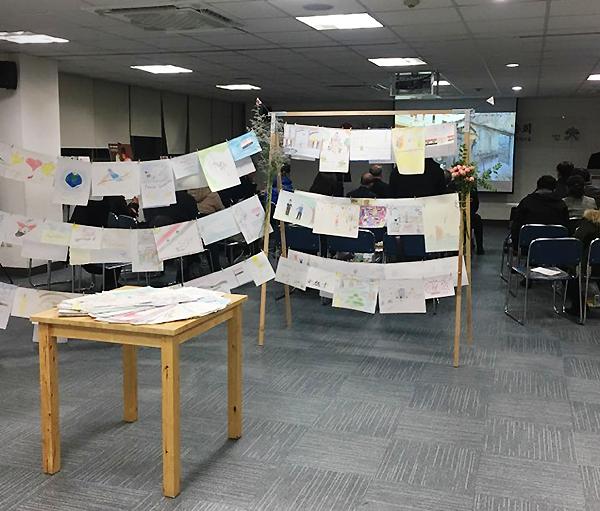 ACN Korea 2017 총회 - 시리아 아이들이 그린 시리아의 평화