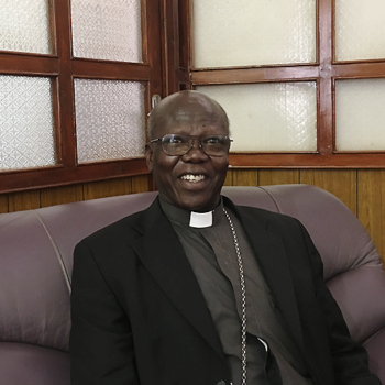 수단 카르툼대교구의 만고리아 대주교님. 출처=ACN 자료사진
