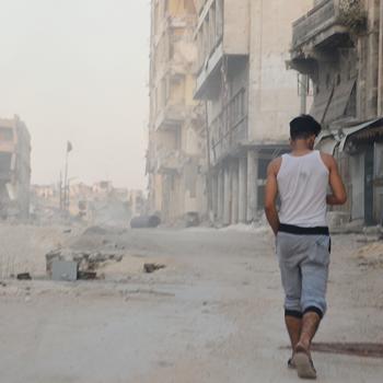 알레포의 모습 (출처=ACN 자료사진)
