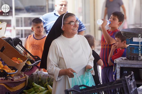 일한 수녀는 아이들에게 안전한 장소를 제공하고자 합니다 (출처= Jaco Klamer/ACN)