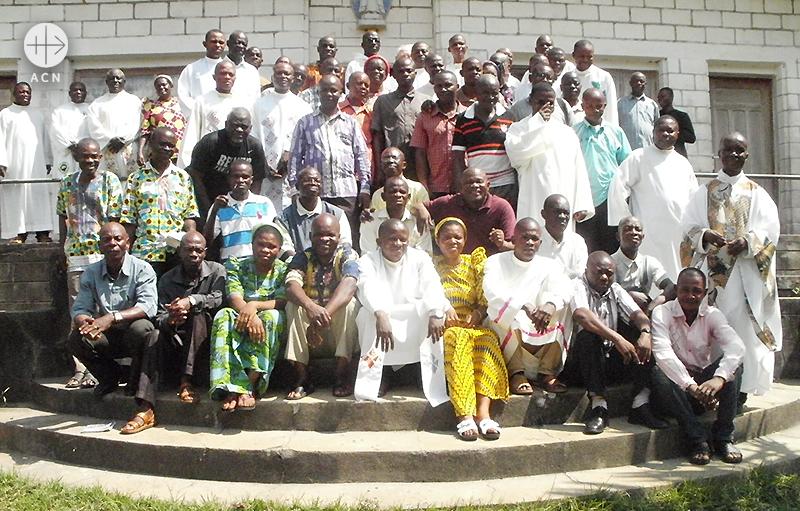 콩고민주공화국 가톨릭교회의 교구 사목 평의회(출처=ACN자료사진)