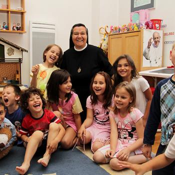 아기 예수의 종 수녀회가 운영하는 어린이집 이집트 하우스 (2016년 사라예보)