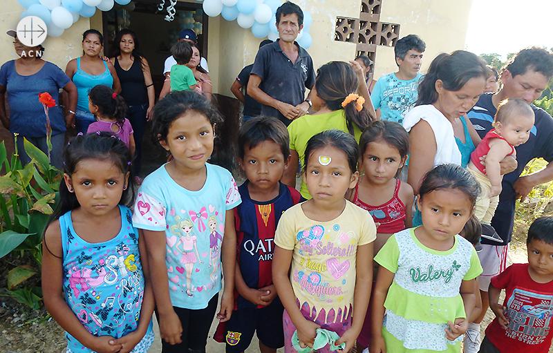 마을 어린이들 (출처=ACN 자료사진)