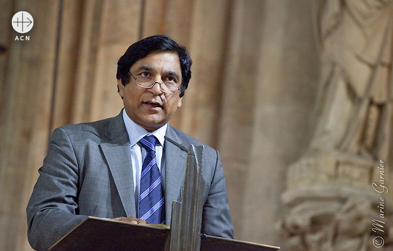 파키스탄의 전 소수민족부장관 샤바즈 바티의 친동생 폴 바티 (출처=ACN 자료사진)