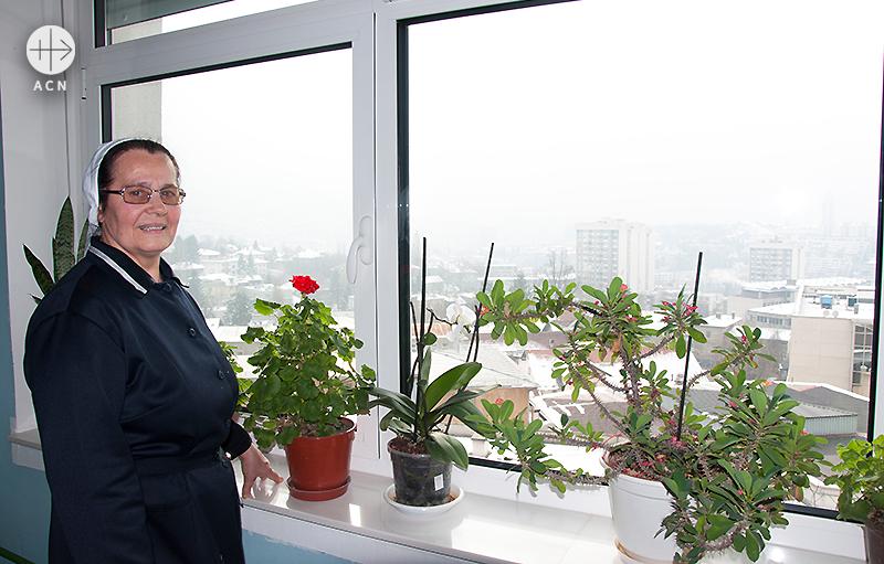 마리자 베스카 수녀 (출처=ACN 자료사진)