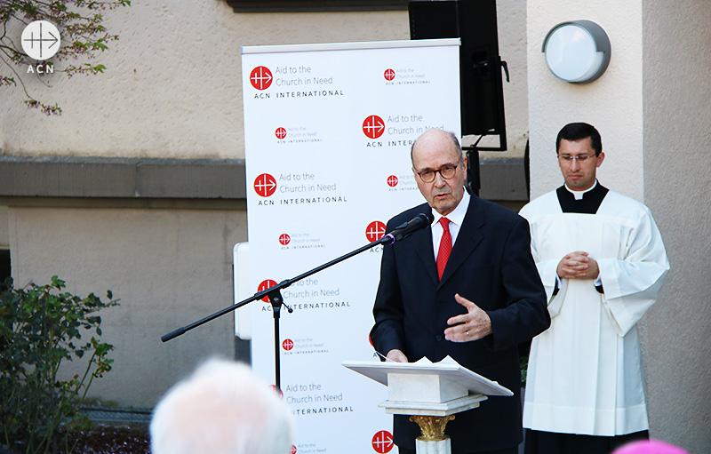 요하네스 헤르만 전 ACN 대표 (출처=ACN 자료사진)