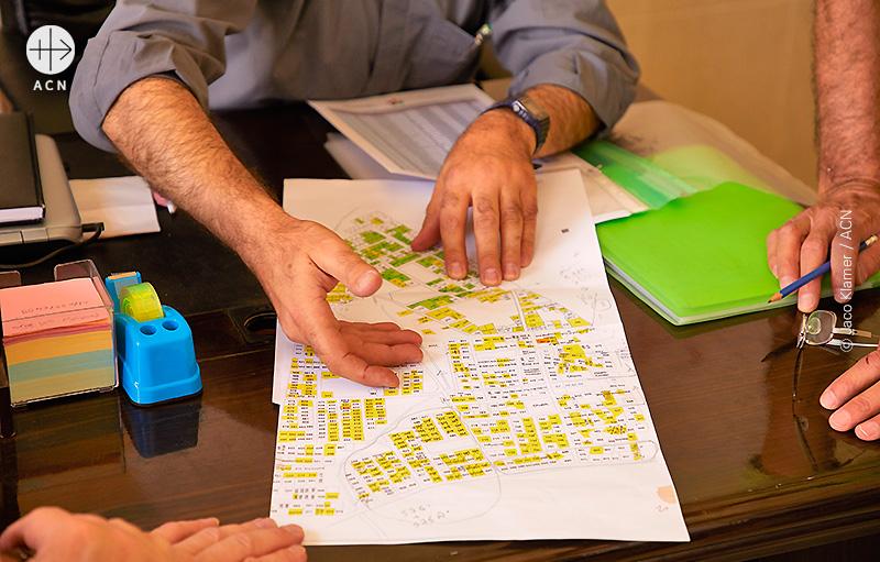 니네베평원 재건 프로젝트 회의 장면 (출처=ACN 자료사진)