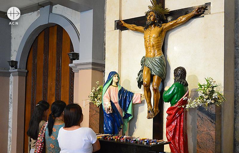 세부의 산토니뇨 성당 (출처=ACN 자료사진)