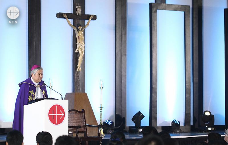 ACN 필리핀 이사장 소크라테스 빌레가스 대주교 (출처=ACN 자료사진)