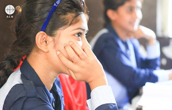 성마리아 학교에서 (출처=ACN 자료사진)