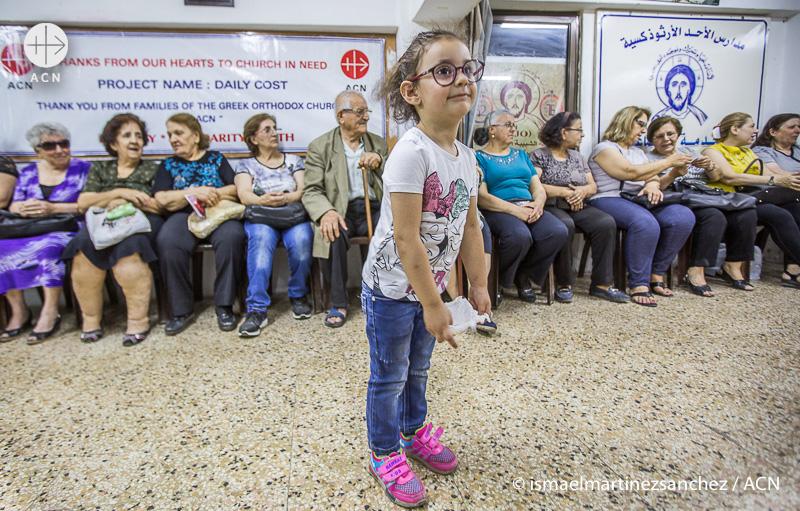 시리아 알레포에서 (출처=ACN 자료사진)