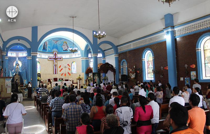 아구아스 칼리엔테스의 루르드 성모 성당 (출처=ACN 자료사진)