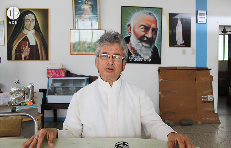 에스테반 갈비스 신부 (출처=ACN 자료사진)