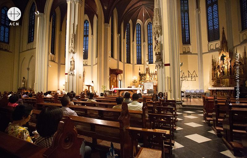 자카르타 성당 (출처=ACN 자료사진)