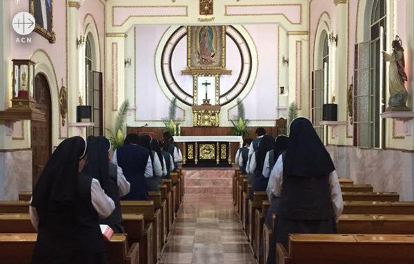 복구된 예수성심선교 수녀원(출처=ACN 자료사진)