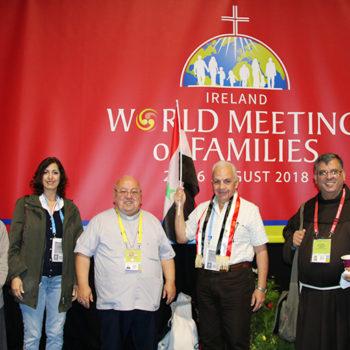 더블린의 세계가정대회에 참가한 시리아 주교회의 가정위원회 (출처=ACN 자료사진)