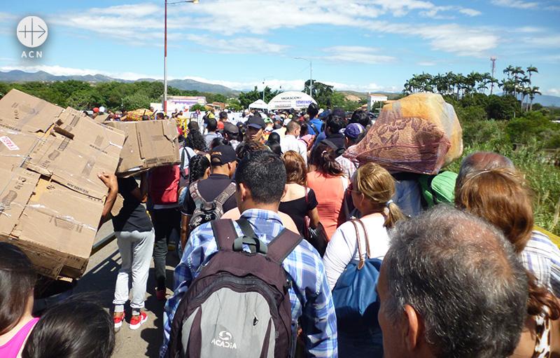 베네수엘라와 콜롬비아 국경(출처=ACN 자료사진)
