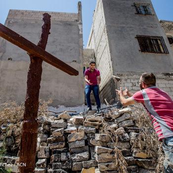 홈스의 구시가지 재건 (출처=ACN 자료사진)