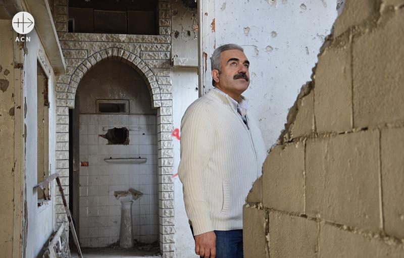 건축 책임자 하시브 마콜 (출처=ACN자료사진)