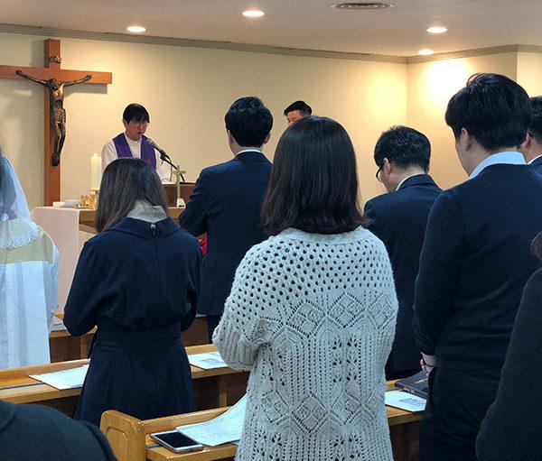 국회 송년 미사 (2018.12.12 국회 다산경당)