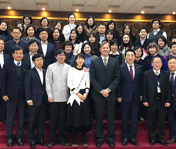 국회 송년 미사 (2018.12.12 국회 본관 로텐더홀)
