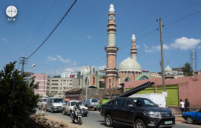 아디스아바바의 이슬람 사원(출처=ACN자료사진)