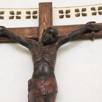 나뭉구(Namoungou), 교리교사 교육센터의 성전 십자가 (출처=ACN자료사진)