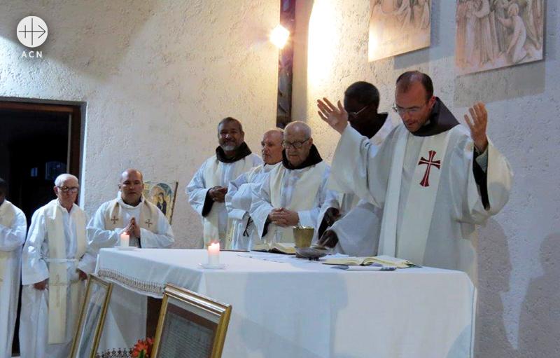 모로코 프란치스코 형제회 성직자들 (출처=ACN자료사진)
