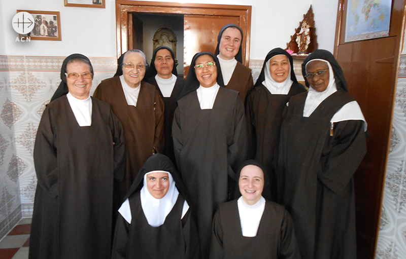 탕헤르의 가르멜회 수녀들 (출처=ACN자료사진)