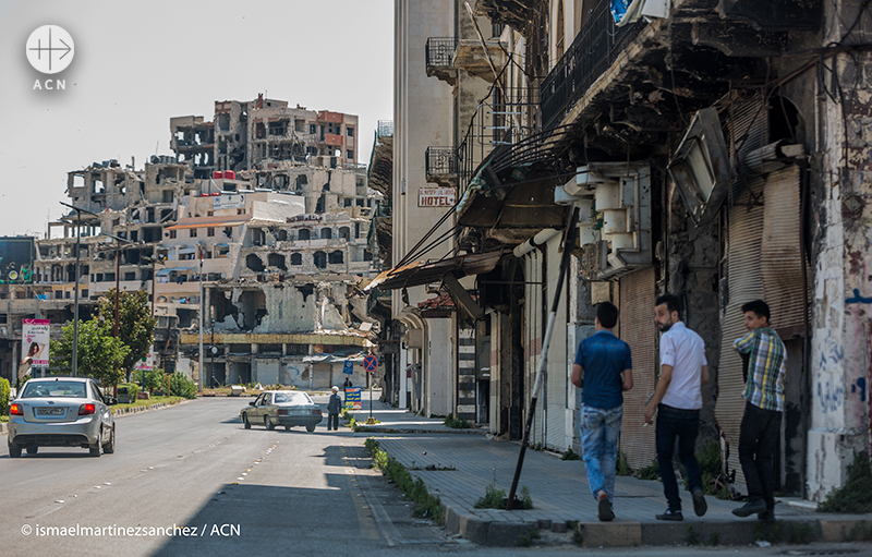 시리아 홈스 (출처=ACN자료사진)