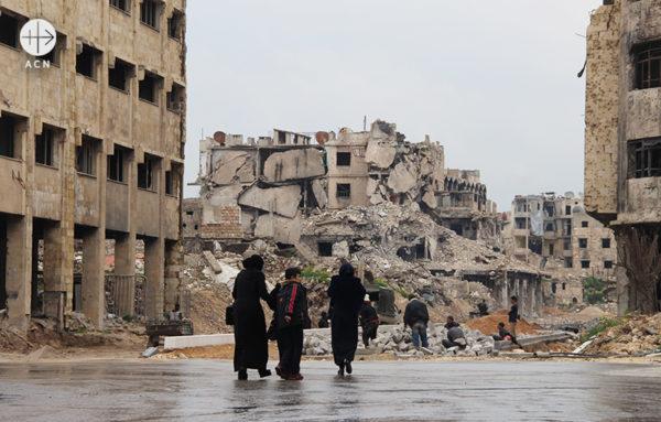 알레포 모습 (출처=ACN자료사진)