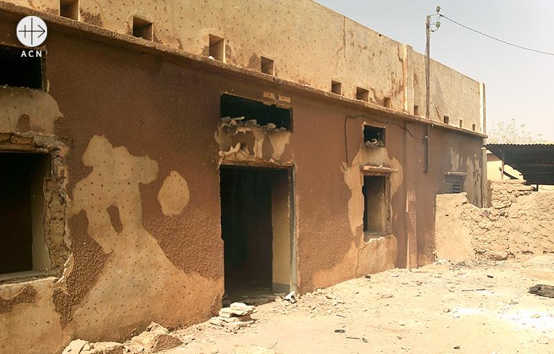 샤를리 에브도를 계기로 근본주의자들이 벌인 공격 이후 니제르의 모습(출처=ACN 자료사진)
