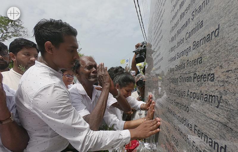 부활절 폭탄 테러 공격을 받은 스리랑카 네곰보의 성 세바스티아노 성당(출처=ACN 자료사진)