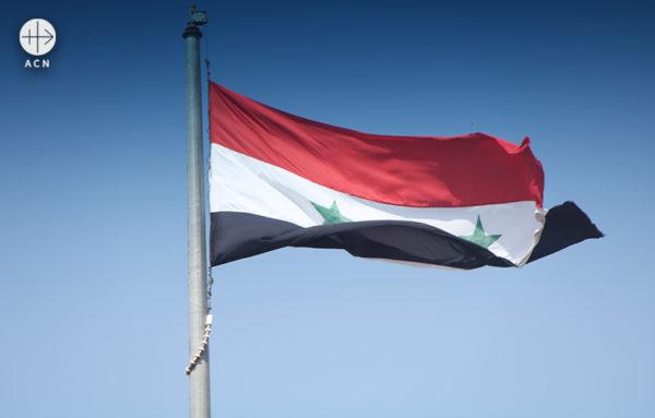 시리아 국기 (출처=ACN 자료사진)