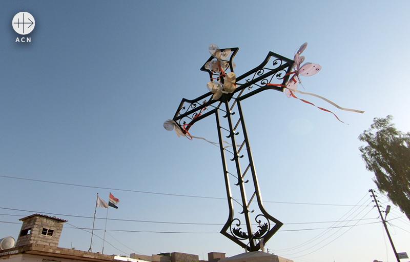 이라크 카람레시의 십자가(출처=ACN 자료사진)