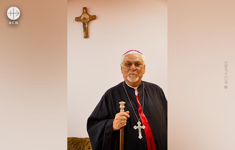 시리아 가톨릭 모술대교구장 요한나 페트로스 무슈 대주교 (출처=ACN 자료사진)
