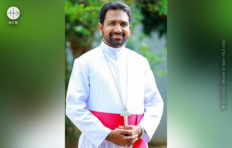 시로 말라바 가톨릭교회 이두카교구장 존 넬리쿤넬 주교 (출처=BIJU GRACE/Diocese of Idukki-MLB India)
