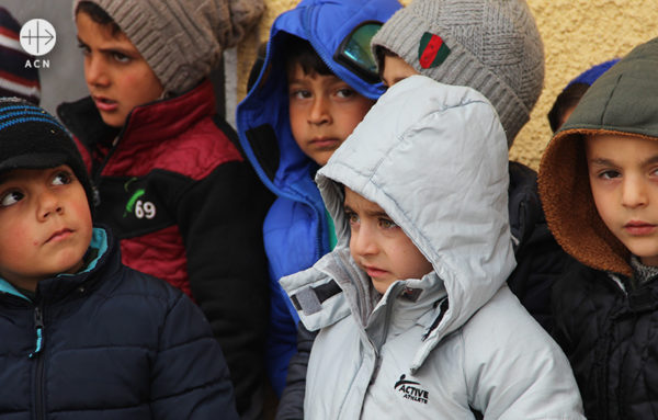 시리아 후아란 교리교육 센터의 아이들 (출처=ACN 자료사진)