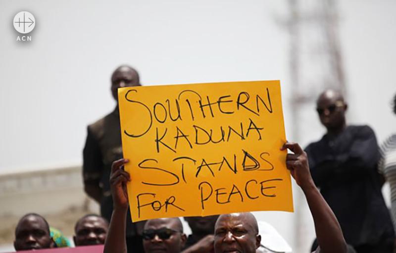 지난해 수도 아부자에서 진행된 평화 시위(출처=ACN 자료사진)