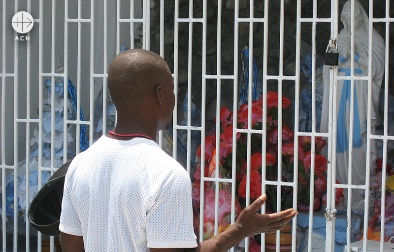 ACN의 아이티 방문 사진(출처=ACN 자료사진)