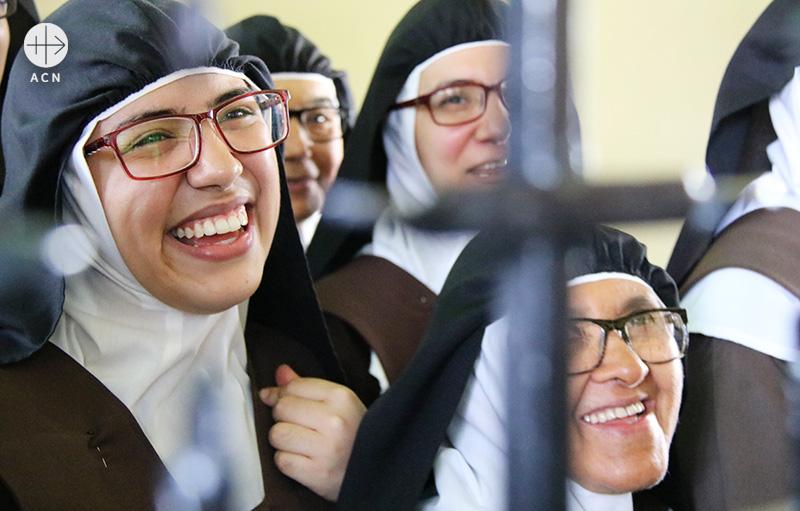 베네수엘라 바르키시메토 가르멜회 수녀들(출처=ACN 자료사진)