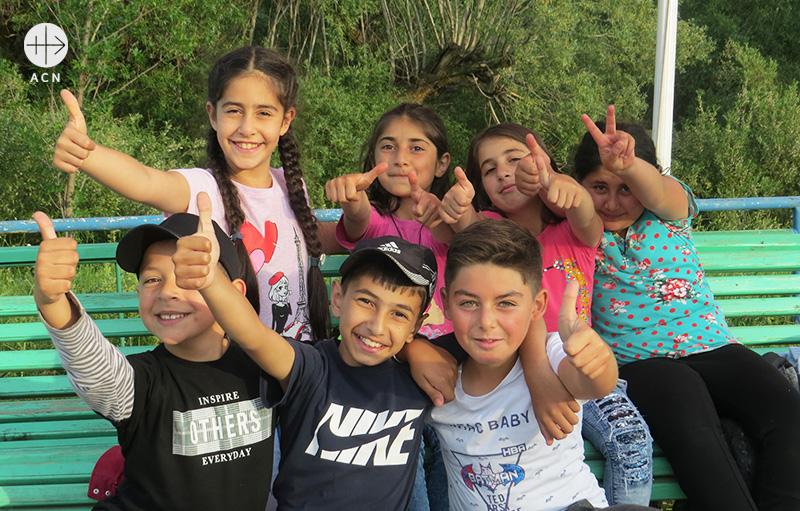 아르메니아, 조지아, 러시아의 그리스도인 어린이들 (출처=ACN 자료사진)