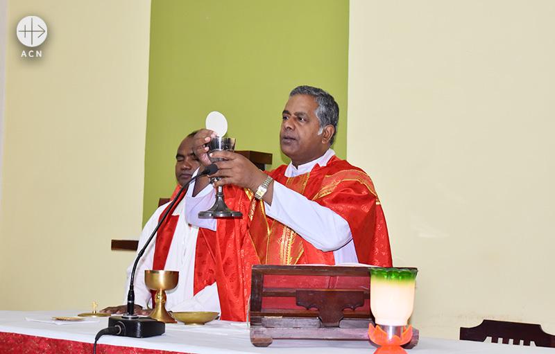 인도 자크핸드주(州) 란치대교구 사제(출처=ACN 자료사진)