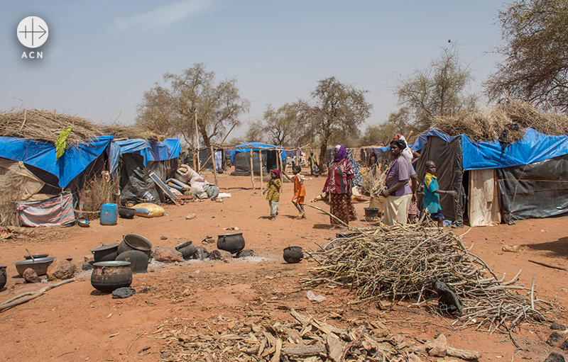 부르키나파소 국내 실향민(IDP) 캠프(출처=ACN 자료사진)